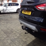 Mobile Towbar Fitting
